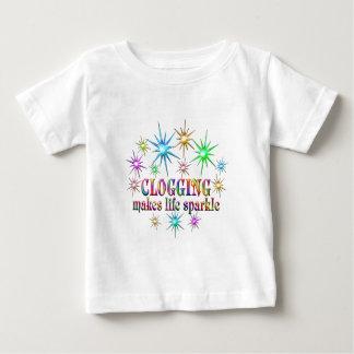 Camiseta De Bebé Chispas de obstrucción