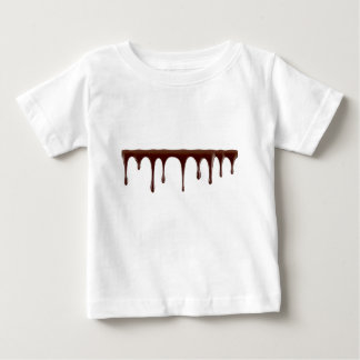 Camiseta De Bebé Chocolate derretido