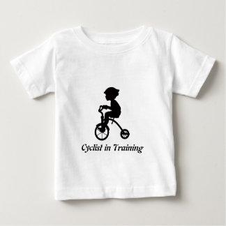 Camiseta De Bebé Ciclista en el entrenamiento