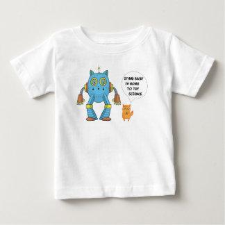 Camiseta De Bebé Ciencia divertida y dirigir el gatito felino