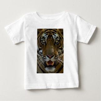 Camiseta De Bebé Cierre de la cara del tigre para arriba