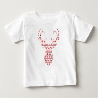 Camiseta De Bebé Ciervos 1 del navidad