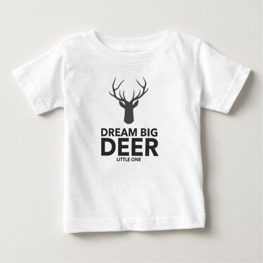 Camiseta De Bebé Ciervos grandes ideales el pequeño