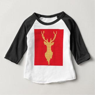 Camiseta De Bebé Ciervos hechos punto