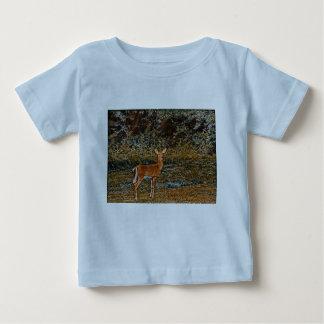 Camiseta De Bebé Ciervos ingeniosos