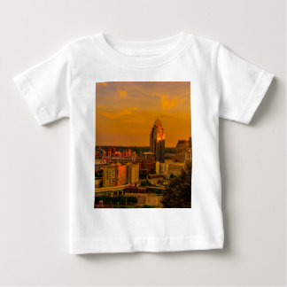 Camiseta De Bebé Cincinnati de oro