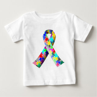 Camiseta De Bebé Cinta del rompecabezas del autismo