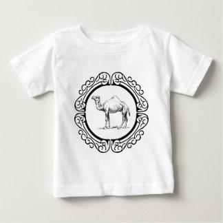 Camiseta De Bebé círculo del camello