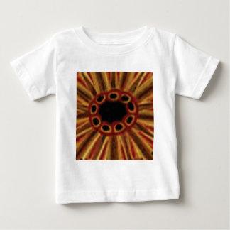 Camiseta De Bebé círculos de centro del agujero