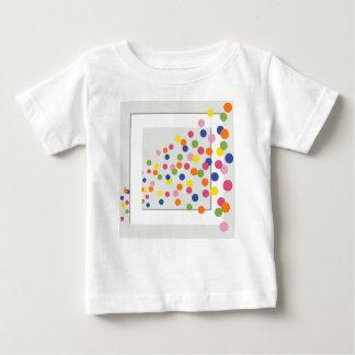 Camiseta De Bebé Círculos enmarcados