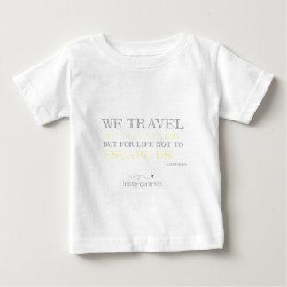 Camiseta De Bebé Cita del viaje