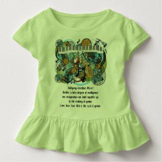 Camiseta De Bebé Citas inspiradas de Wolfgang Amadeus Mozart