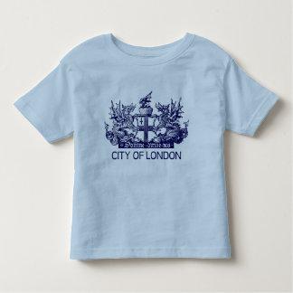 Camiseta De Bebé Ciudad de Londres, vintage, escudo de armas,