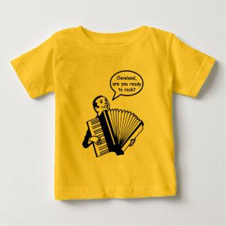 Camiseta De Bebé ¿Cleveland, está usted listo para oscilar?
