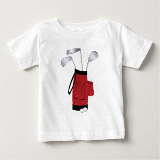 Camiseta De Bebé Clubs de golf y bolso