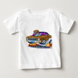 Camiseta De Bebé Coche 1971 de Monte Carlo Brown