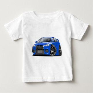 Camiseta De Bebé Coche del azul de Evo