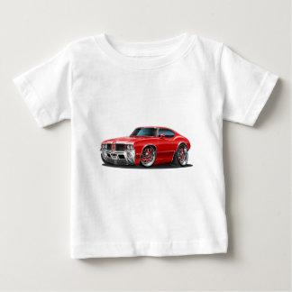 Camiseta De Bebé Coche del rojo del machete de Olds