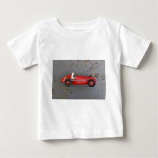 Camiseta De Bebé Coche rojo del juguete del vintage