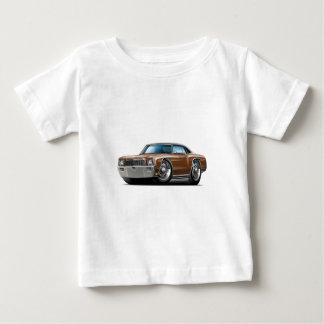 Camiseta De Bebé Coche superior Brown-Negro 1971 de Monte Carlo