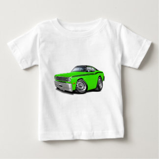 Camiseta De Bebé Coche superior Cal-Negro 1970-74 del plumero