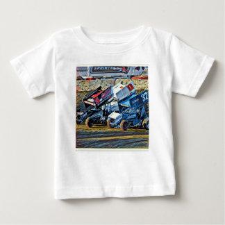 Camiseta De Bebé Coches de carreras