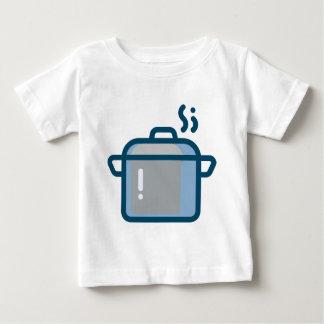 Camiseta De Bebé Cocido al vapor del pote al vapor