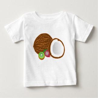 Camiseta De Bebé Cocos tropicales del kiwi