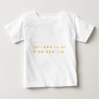 """Camiseta De Bebé Código Morse """"te amo """""""
