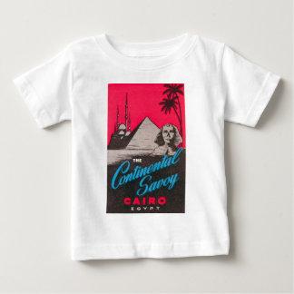 Camiseta De Bebé Col rizada continental El Cairo Egipto