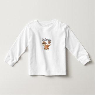 Camiseta De Bebé Colección del mono