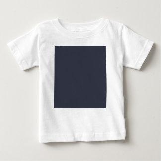 Camiseta De Bebé Color azul sólido de la marina de guerra oscura