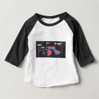 Camiseta De Bebé Color de la percusión