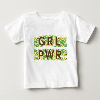 Camiseta De Bebé Color del poder del chica