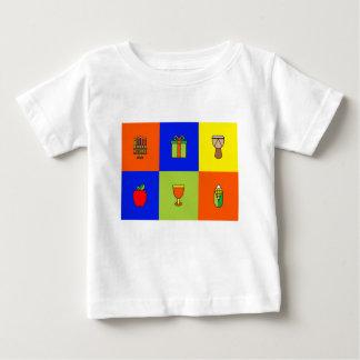 Camiseta De Bebé colorblock de Kwanzaa