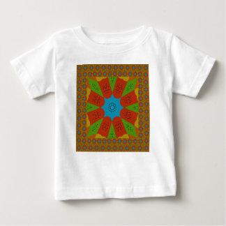Camiseta De Bebé Colores femeninos africanos asombrosos hermosos