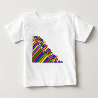 Camiseta De Bebé colores y lápices