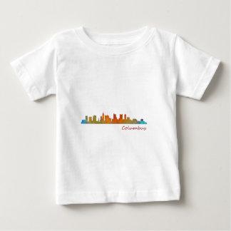 Camiseta De Bebé Columbus Ohio, City Skyline, v1