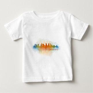 Camiseta De Bebé Columbus Ohio, City Skyline, v3