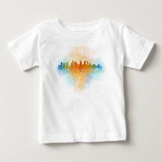 Camiseta De Bebé Columbus Ohio, City Skyline, v4