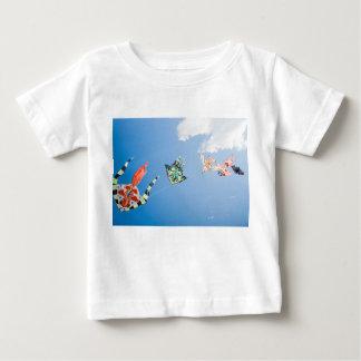 Camiseta De Bebé Cometas