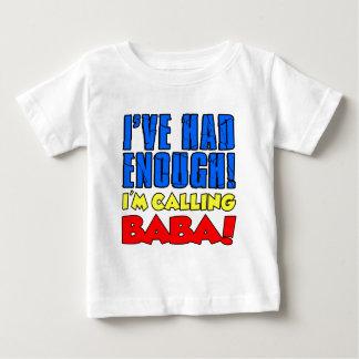 Camiseta De Bebé Comía bastante bizcocho borracho de llamada