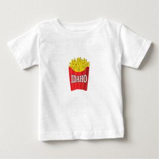 Camiseta De Bebé Comida basura de Idaho