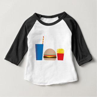 Camiseta De Bebé comida de alimentos de preparación rápida