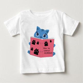 Camiseta De Bebé cómo los gatos controlan a seres humanos