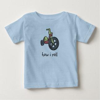 Camiseta De Bebé cómo ruedo