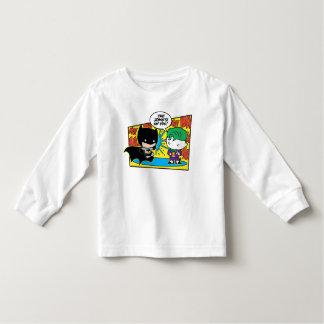 Camiseta De Bebé Comodín de Chibi Pranking Chibi Batman