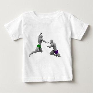 Camiseta De Bebé Concepto de los artes marciales para luchar y la