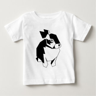 Camiseta De Bebé Conejito cubista