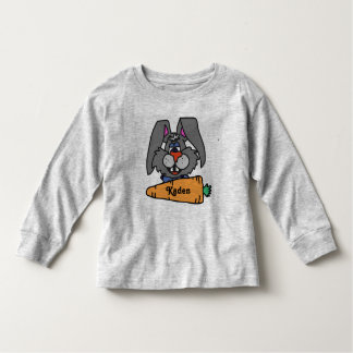 Camiseta De Bebé ¡Conejito de pascua lindo camisa-personalizado!!!